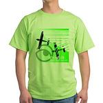 Green Airplane Green T-Shirt
