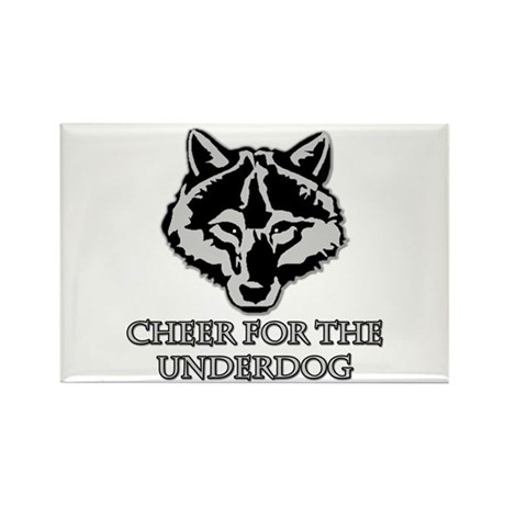 Cheer For The Underdog Rectangle Magnet (10 pack)