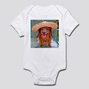 Vacation Doxie Infant Bodysuit