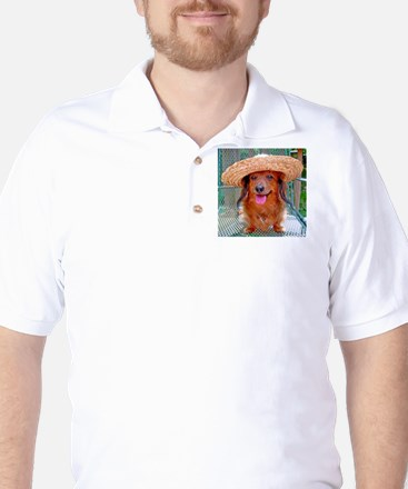 Vacation Doxie Golf Shirt