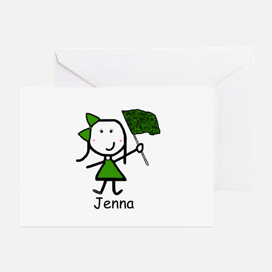Guard - Jenna Greeting Cards (Pk of 20)