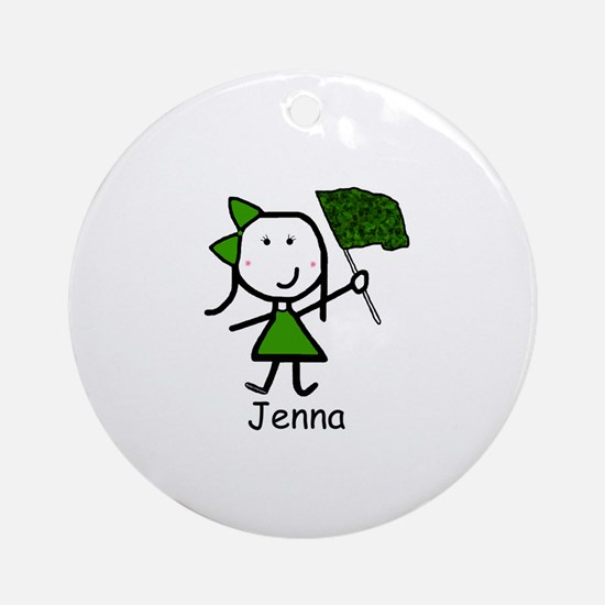 Guard - Jenna Ornament (Round)