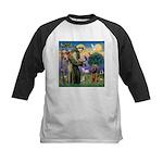 Saint Francis & Airedale Kids Baseball Jersey