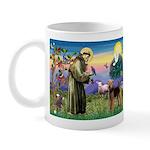 Saint Francis & Airedale Mug