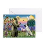 SAINT FRANCIS Greeting Cards (Pk of 10)