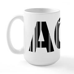 Nantucket Massachusetts ACK Airport Large Mug