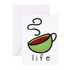 coffee is... Greeting Cards (Pk of 10)