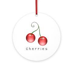 cherries Ornament (Round)