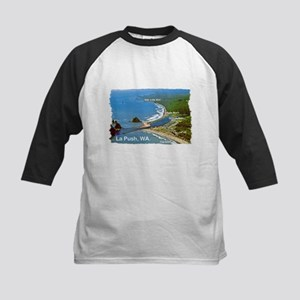 La Push, WA. 3 Kids Baseball Jersey