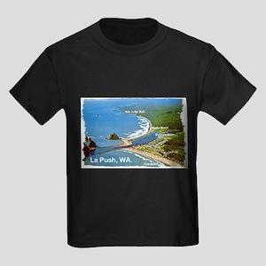 La Push, WA. 3 Kids Dark T-Shirt