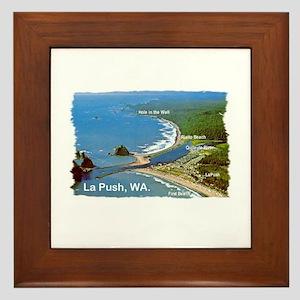 La Push, WA. 3 Framed Tile