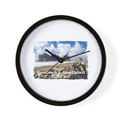 Forks, WA. 1 Wall Clock