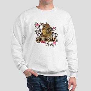 Squirrely Squirrel Lover Sweatshirt