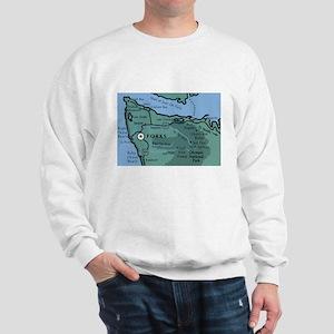 Forks, WA. 2 Sweatshirt