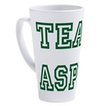 Team Aspie 17 oz Latte Mug