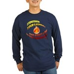 Finished Your Laundry Long Sleeve Dark T-Shirt