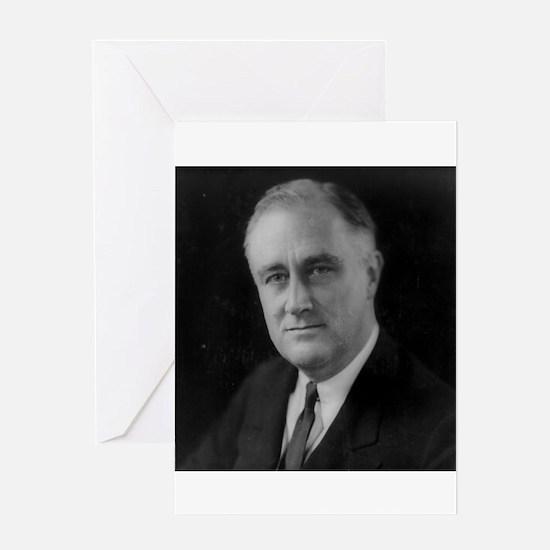 Franklin Roosevelt Greeting Card
