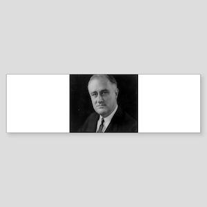 Franklin Roosevelt Bumper Sticker