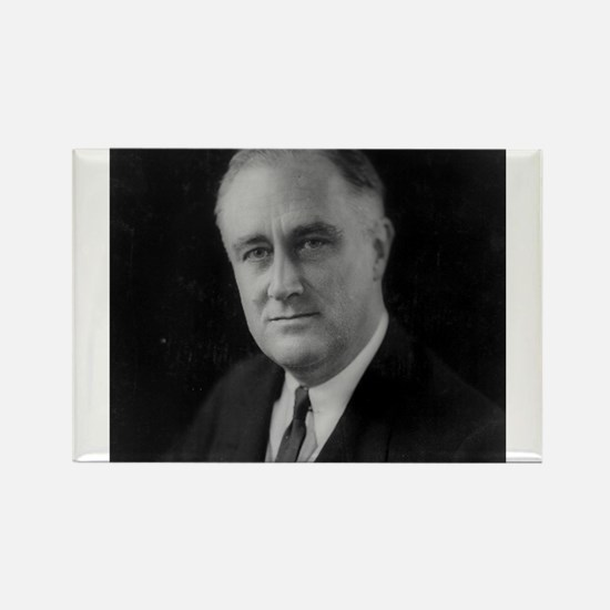 Franklin Roosevelt Rectangle Magnet