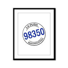 La Push 98350 Framed Panel Print
