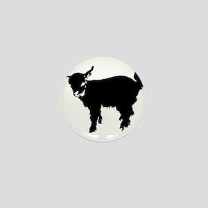 Baby Goat Mini Button