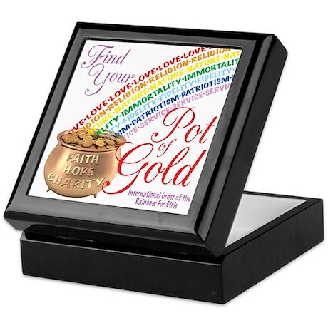 IORG-Pot Of Gold Keepsake Box