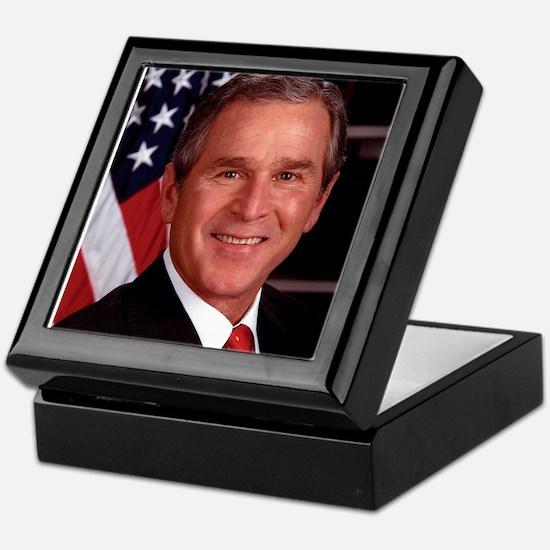 George W. Bush Keepsake Box