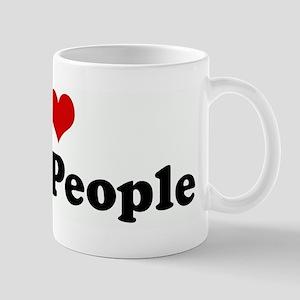 I Love Little People Mug