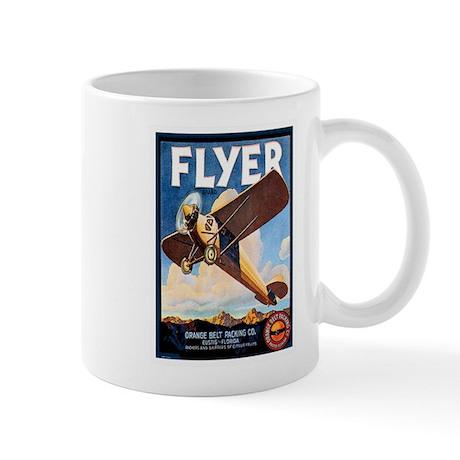 Vintage Airplane Mug