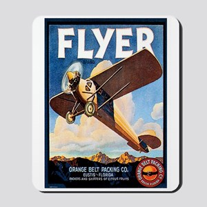 Vintage Airplane Mousepad