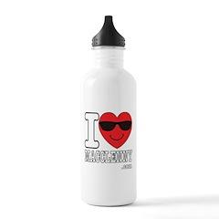 I Love Macclenny Water Bottle