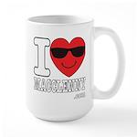 I Love Macclenny Mugs