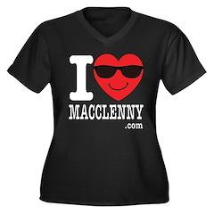 I Love Macclenny Plus Size T-Shirt