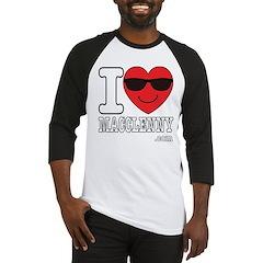 I Love Macclenny Baseball Jersey