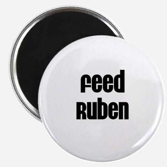Feed Ruben Magnet