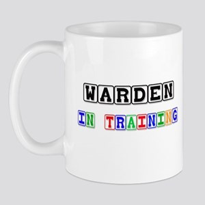 Warden In Training Mug