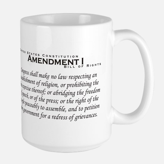 Amendment I Large Mug
