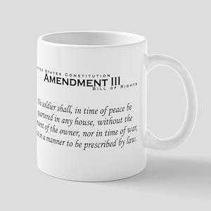 Amendment III Mug