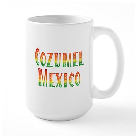 Cozumel Mexico - Large Mug
