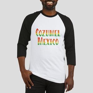 Cozumel Mexico - Baseball Jersey