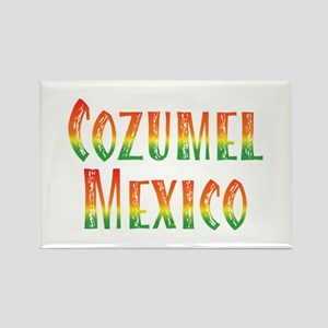 Cozumel Mexico - Rectangle Magnet