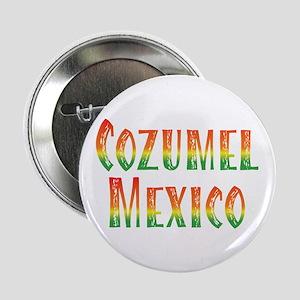 """Cozumel Mexico - 2.25"""" Button"""
