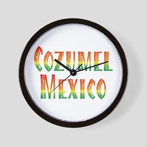 Cozumel Mexico - Wall Clock