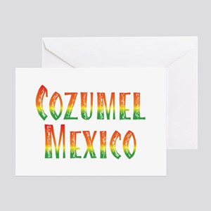 Cozumel Mexico - Greeting Card