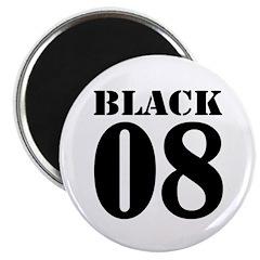 Team Black Jersey Magnet