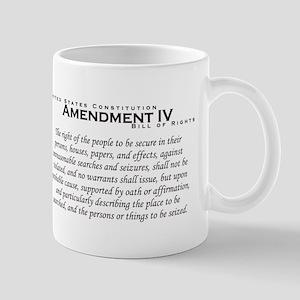 Amendment IV Mug