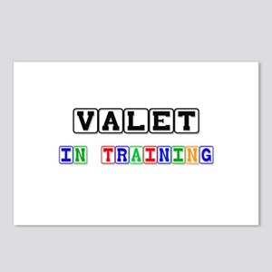Valet In Training Postcards (Package of 8)