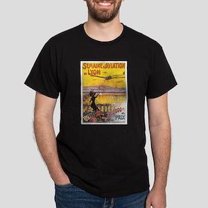 Vintage Airplane Dark T-Shirt