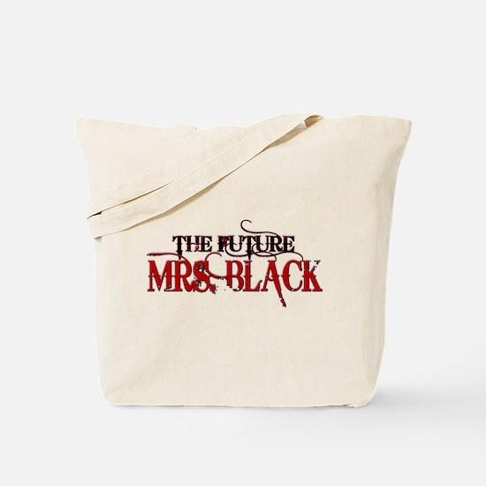 Future Mrs. Black Tote Bag