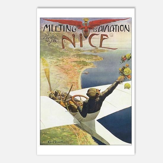 Vintage Airplane Postcards (Package of 8)
